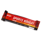 000132 Wcup Sports Nougat 20x30gr WCUP Sports Nougat is een energiereep die door een combinatie van nougat, honing, gedroogd fruit en maltodextrines de nodige snelle suikers voorziet om je energie te maximaliseren.