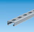 15006350 strut rail 41x21x2,5mm length 350mm strut rail 41x21x2,5mm length 350mm 21x41