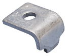 15101021 strut clamp 1 hole 13mm strut clamp 1 hole 13mm (100 pieces / box) klemplaat strut