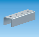 15102100 Connector for rail 41x21 and 41x41 Connector for rail 41x21 and 41x41 (10 pieces / box) verlengstuk