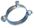 "16002020 Pipe clamp 3/4"" M8+M10 connection FM approved (50 pieces / box) Pipe clamp 3/4"" M8+M10 connection FM approved (50 pieces / box) muurbeugel Erico"