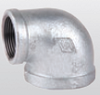 "20904015 90° reducing elbow 6/4""-1/2"" galvanized FM approved 90° reducing elbow 6/4""-1/2"" galvanized FM approved
