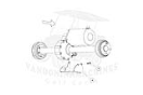 CC101611402 Differential, Guard KIT Used on: Precedent 2004-current.