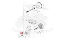 CC102491501 Washer, Hard, M10 Used on: Precedent 2008-current.